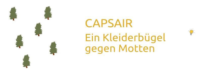 Kleiderbügel gegen Motten (CAPSAIR)